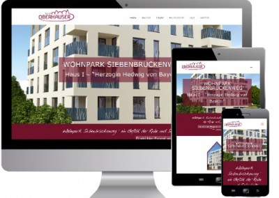 Oberhauser GmbH, Wohnpark Siebenbrückenweg