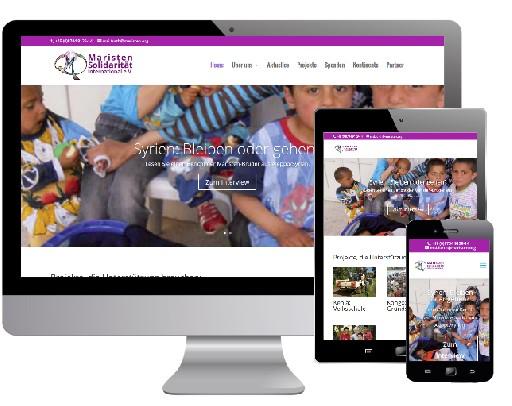 Neue Webseite für Maristen Solidarität International e.V.